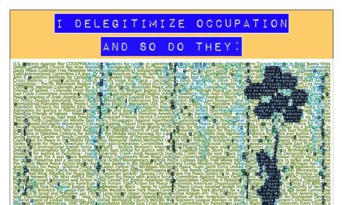delegitimize occupation