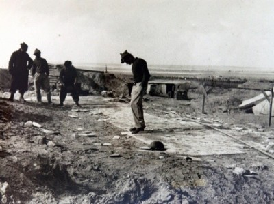 Nirim outpost in 1948