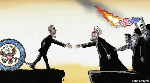 Economist iran cartoon
