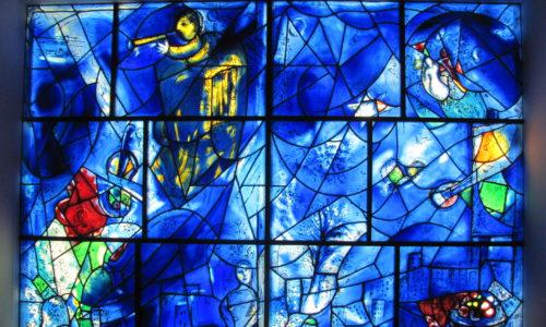 chagall hadassah window